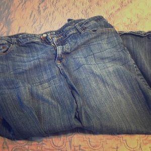 16T Crop Jeans